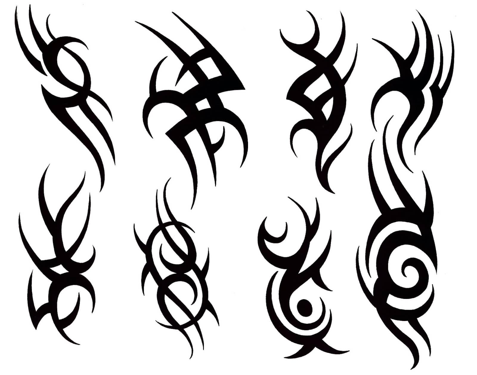 48+ Wonderful Tribal Tattoos