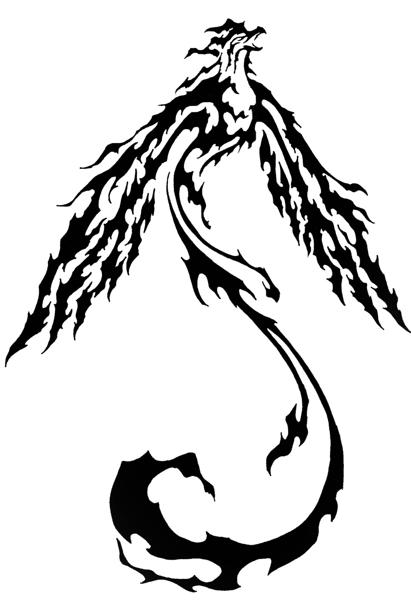 Tribal-Tattoos Outstanding-Phoenix-Tribal-Tattoo-Design