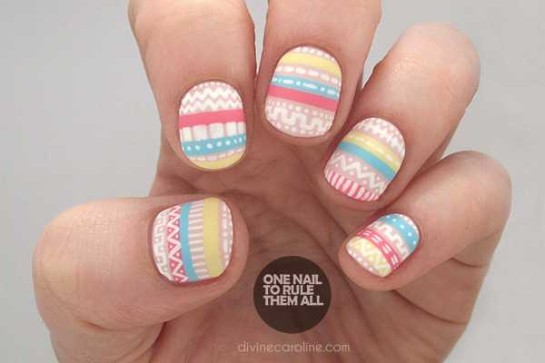 Lovely Nail Art Simple Easy Designs Thin Tutorial Nail Art Simple Regular Starry Night Nail Art Cute Nail Art Easy Old Toe Fungus Nail Polish SoftHot Design Nail Polish 50  Most Beautiful Pastel Nail Art Design Ideas For Trendy Girls