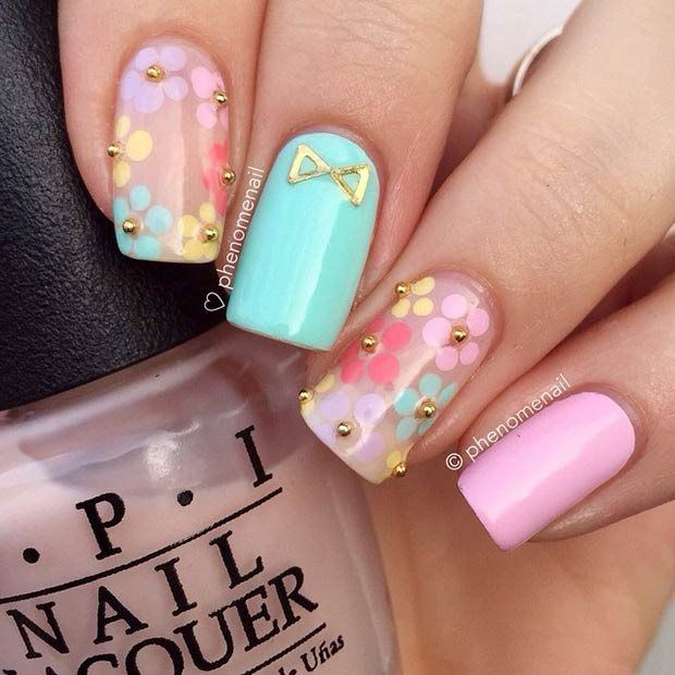 50 Beautiful Stylish And Trendy Nail Art Designs For: 50+ Most Beautiful Pastel Nail Art Design Ideas For Trendy