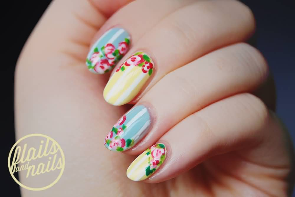 50 Most Beautiful Pastel Nail Art Design Ideas For Trendy