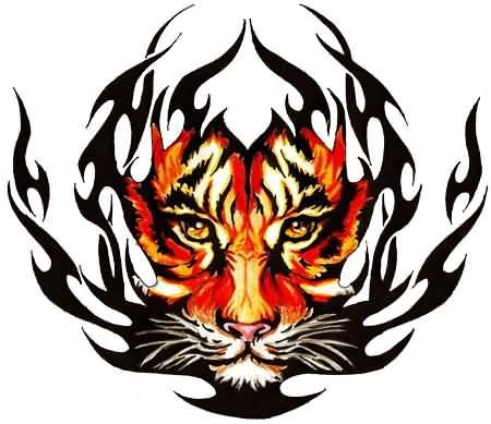 55 Latest Tribal Tiger Tattoos