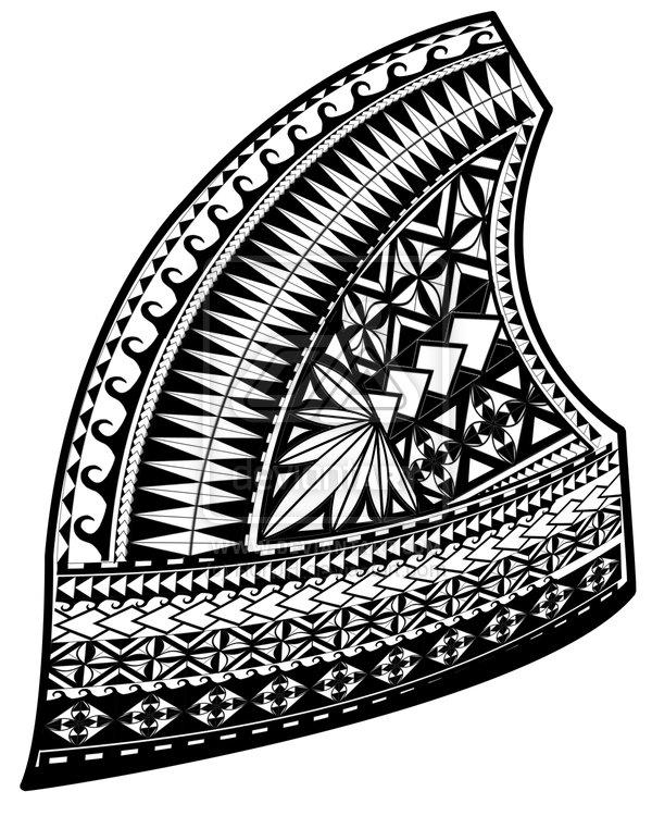 Samoan Tattoo Design By Ronjh