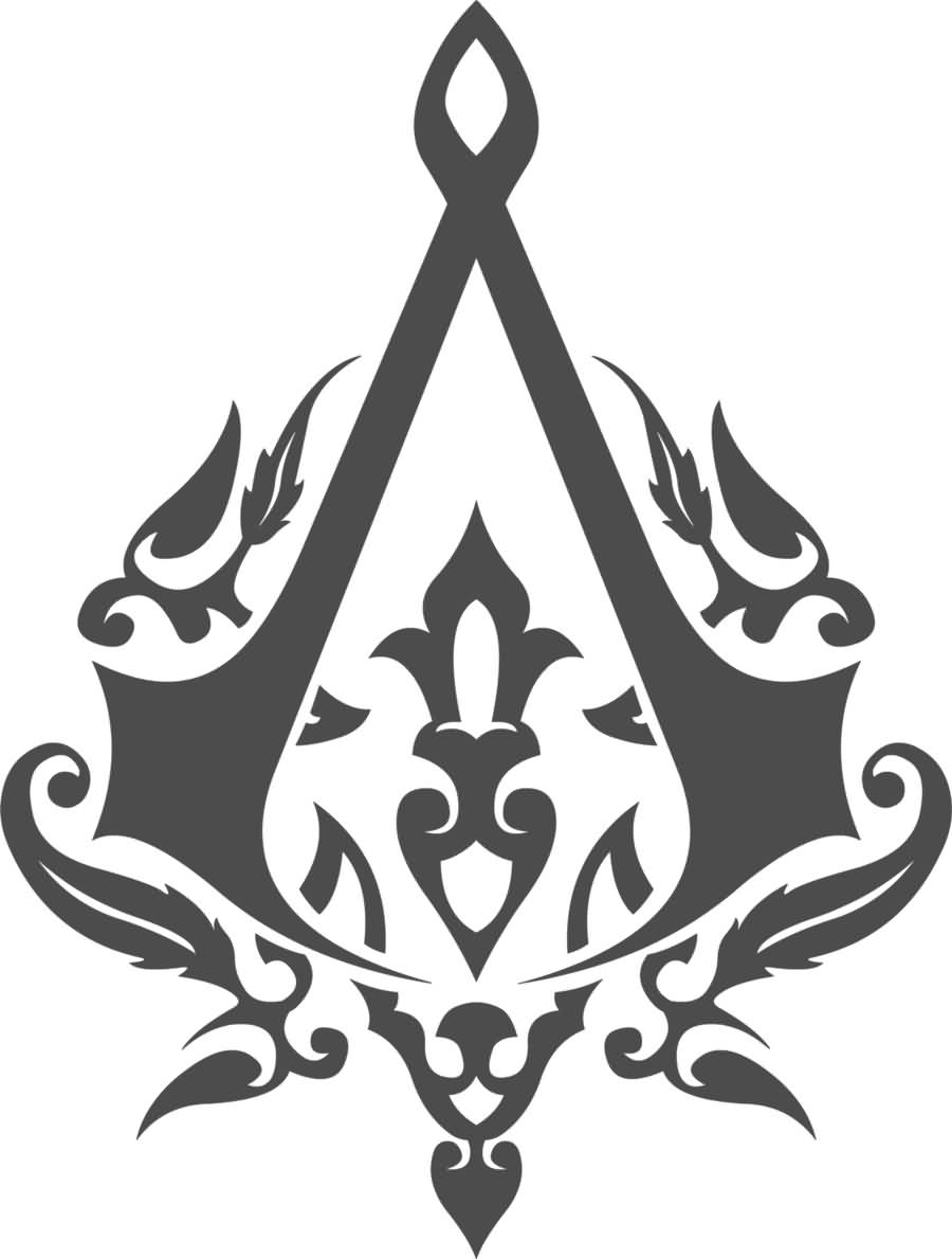 Simple Assassins Creed Tattoo Design by Vesferatu