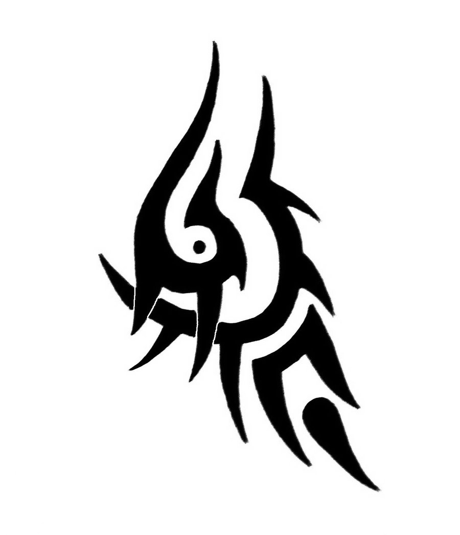 Simple Tribal Tattoo Design By SorenTalon