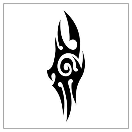 40 latest tribal tattoo designs for Easy tribal tattoos