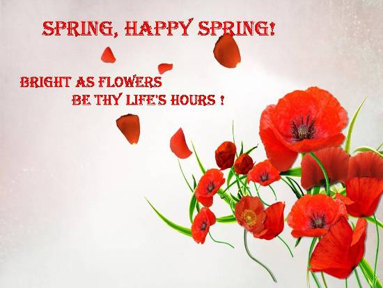 50+ Latest Spring Season Wish Pictures And Photos