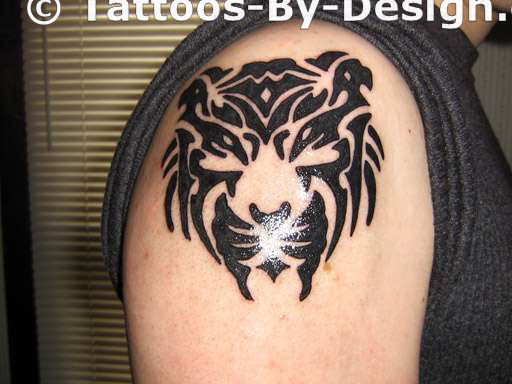 55 latest tribal tiger tattoos for Tiger tattoo face