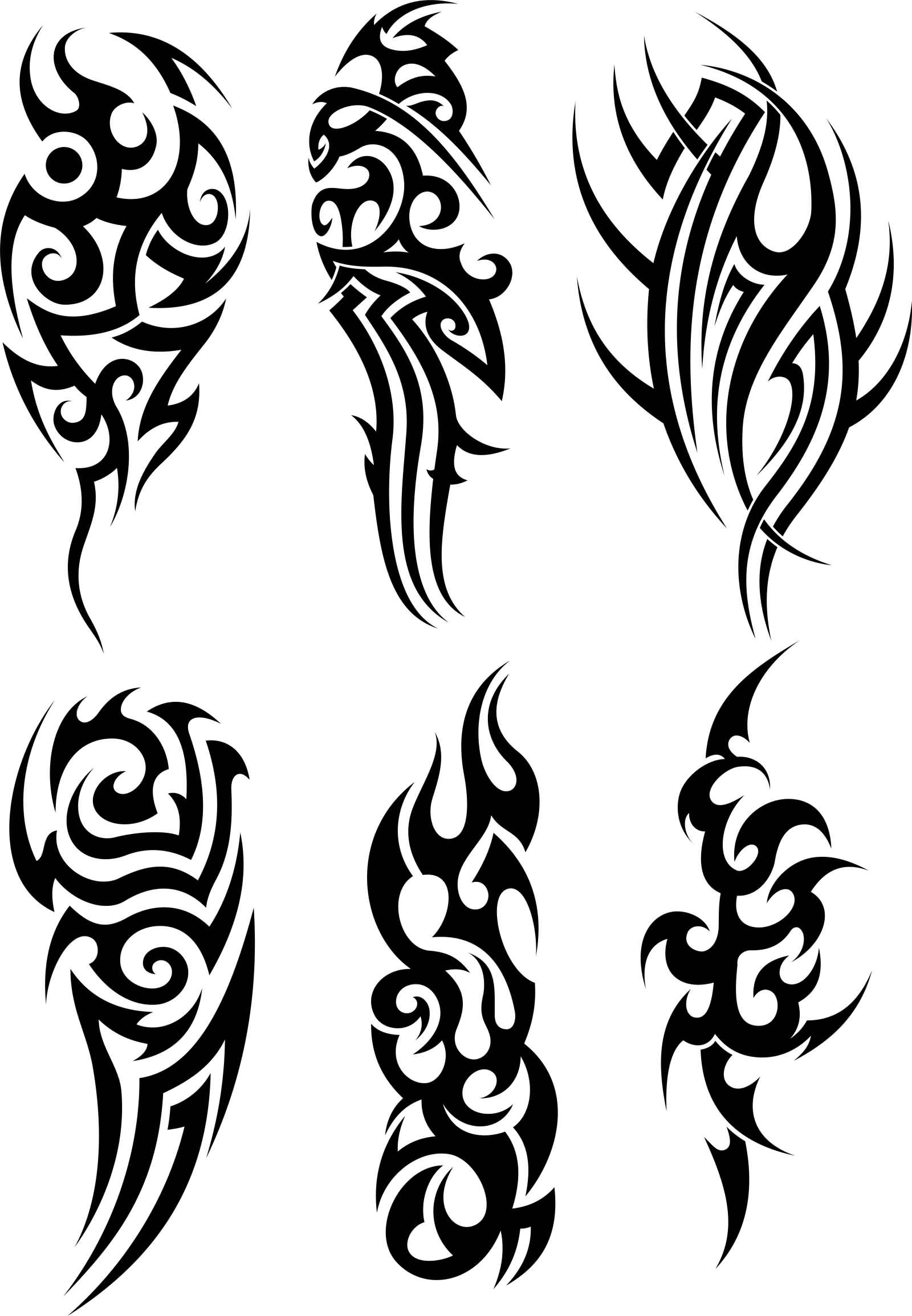 921defab8 Stylish Black Tribal Tattoos Samples
