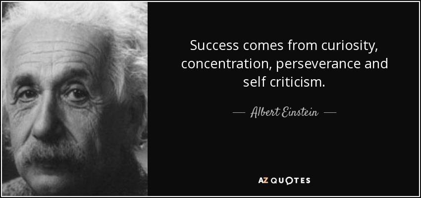Albert Einstein Reading Quote: Perseverance Quotes