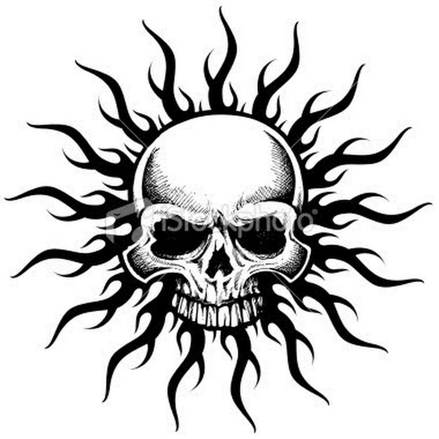 40+ Tribal Skull Tattoos Ideas