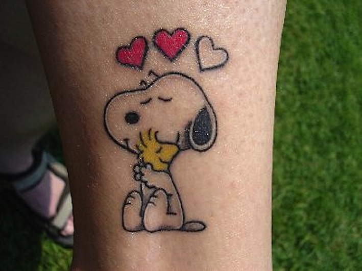 21 Cool Snoopy Tattoos Ideas