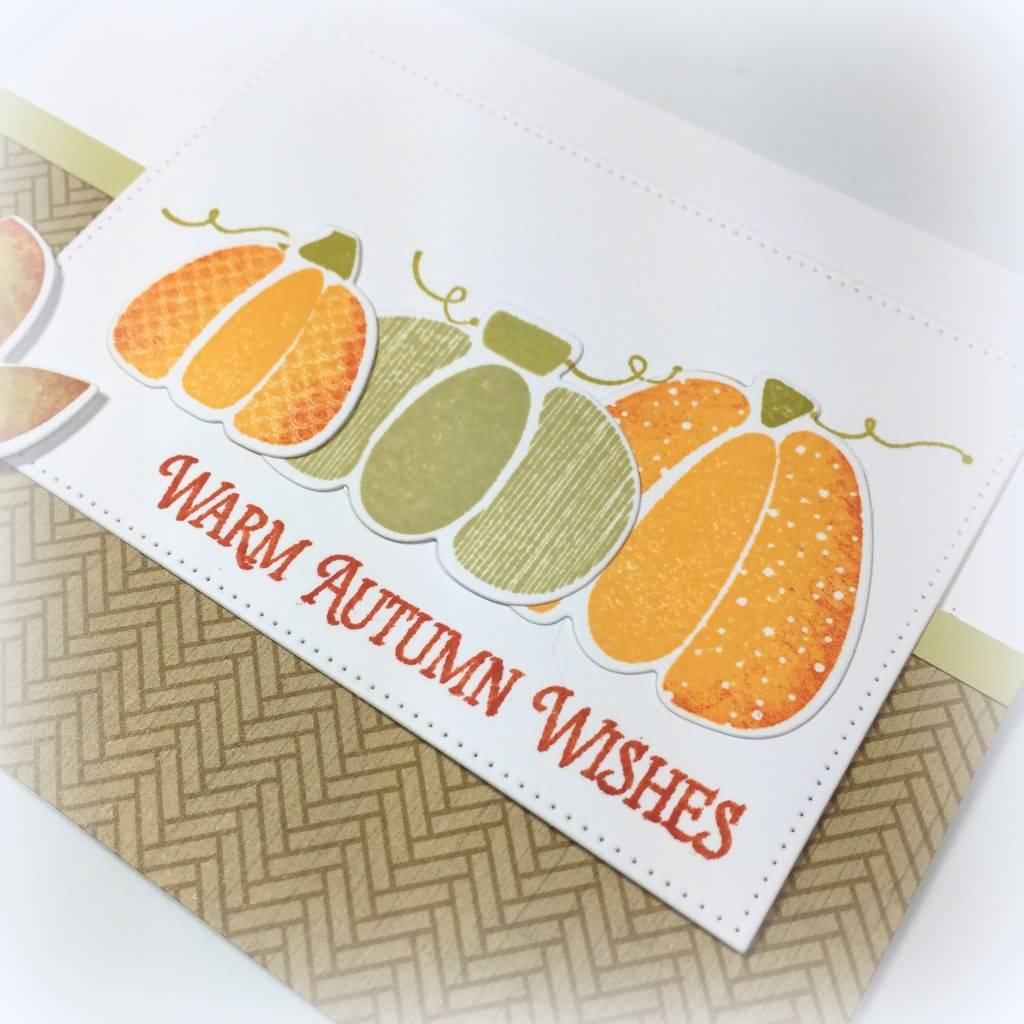 Warm autumn wishes greeting card kristyandbryce Choice Image