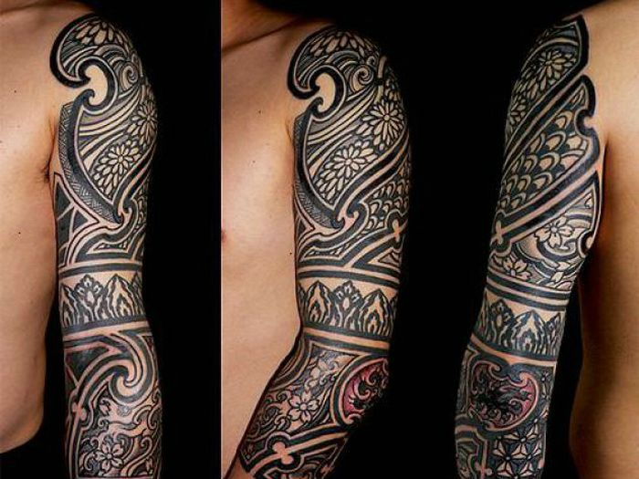 48+ Wonderful Tribal TattoosAztec Tribal Patterns Tattoos