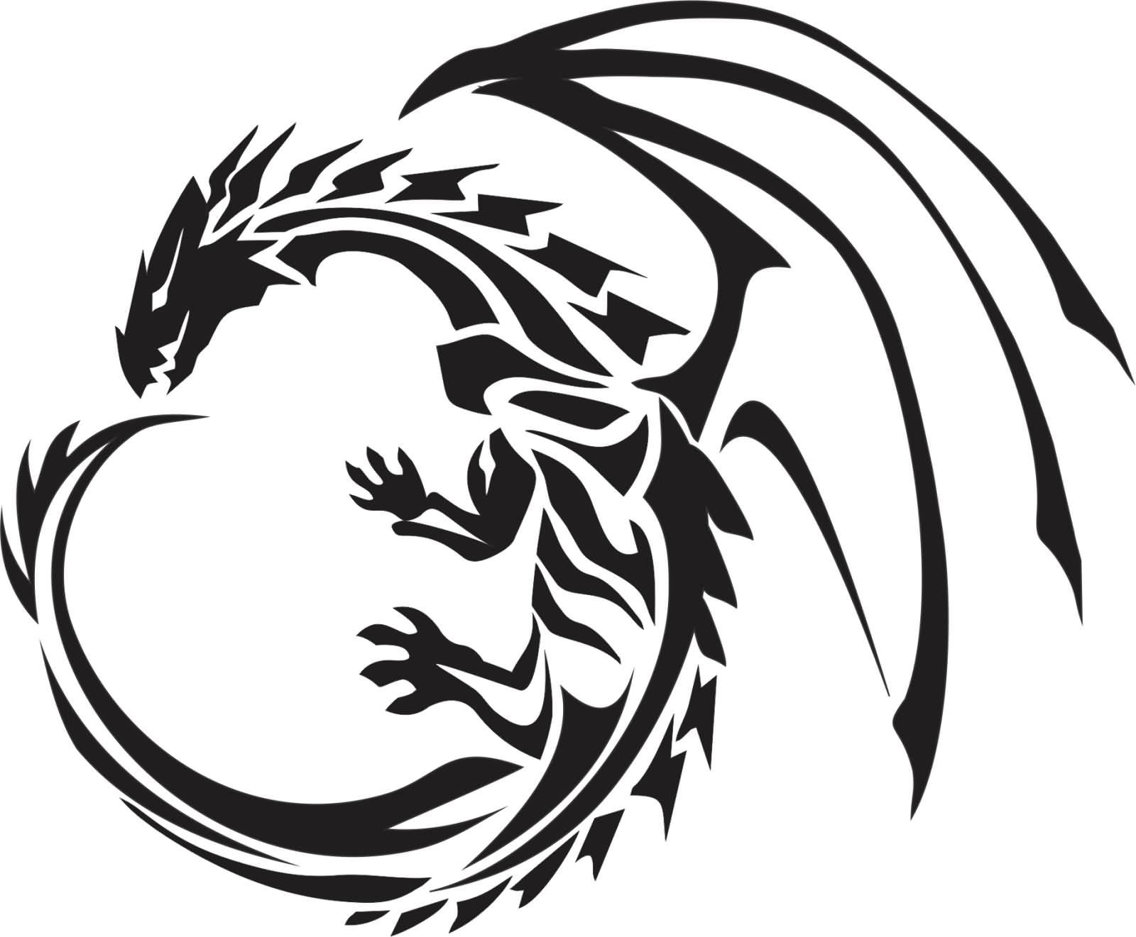 52 latest tribal dragon tattoos designs
