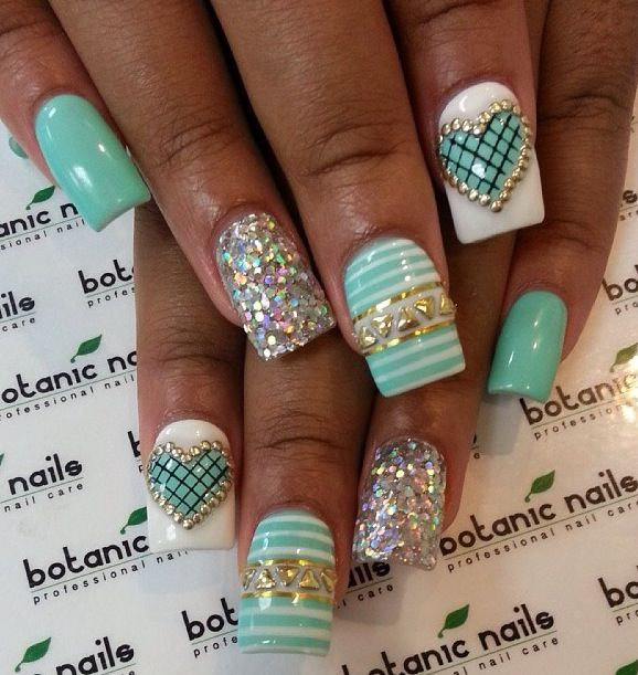 50 Amazing 3d Nail Art Design Ideas