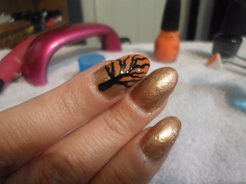 nail designs for autumn 2014 50 golden autumn nails nail design