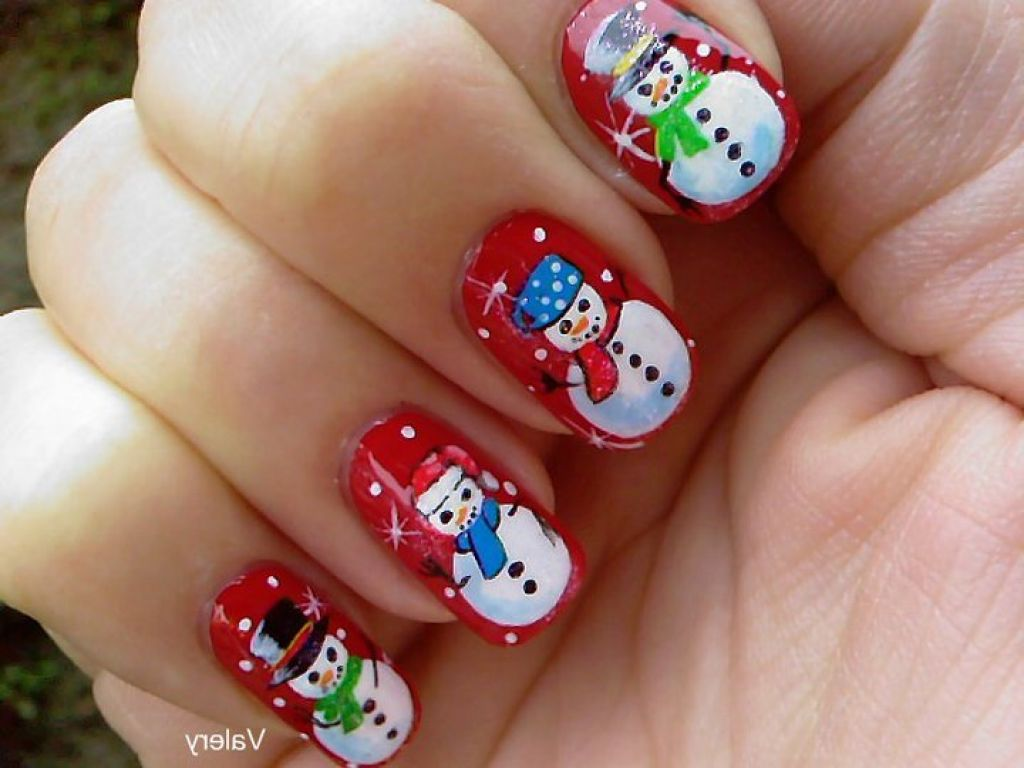 60+ Best Winter Nail Art Design Ideas For Trendy Girls