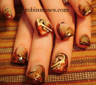nails design for fall