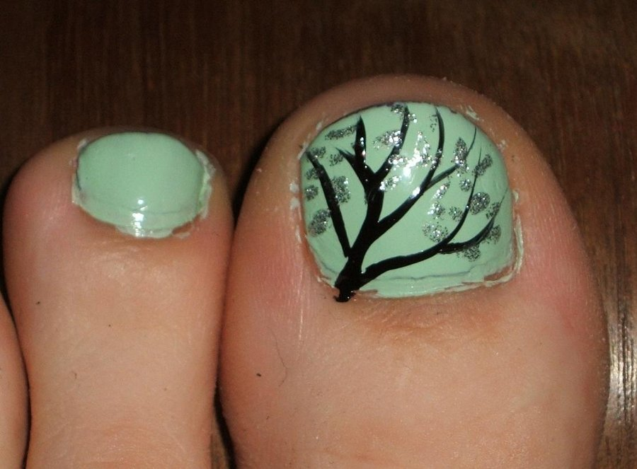 55 Most Stylish Toe Nail Art Ideas