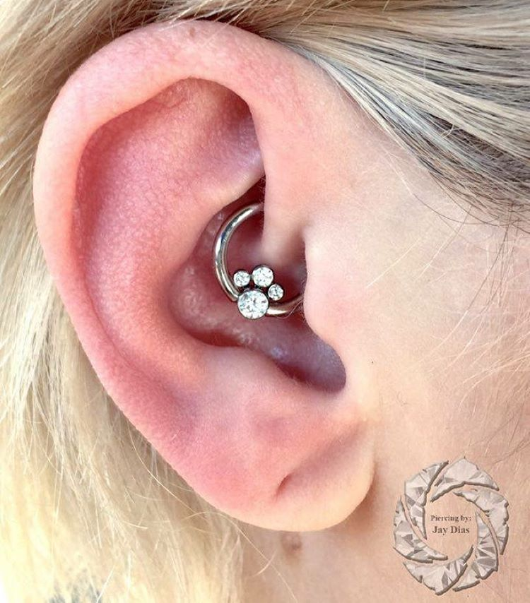 daith ear jewelry 50 daith piercing pictures and ideas 6777