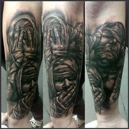 75 Wonderful Evil Tattoos