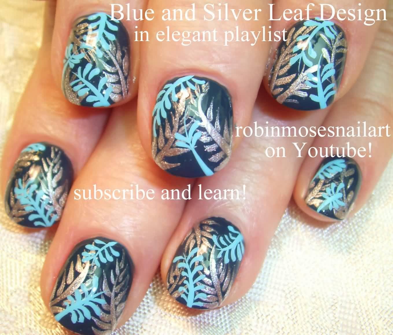 40+ Latest Winter Nail Art Designs