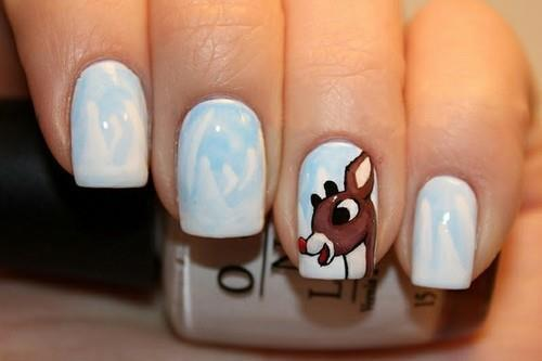 50 Latest Winter Nail Art Design Ideas