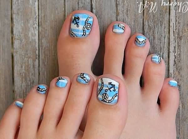 55 Latest Toe Nail Art Designs