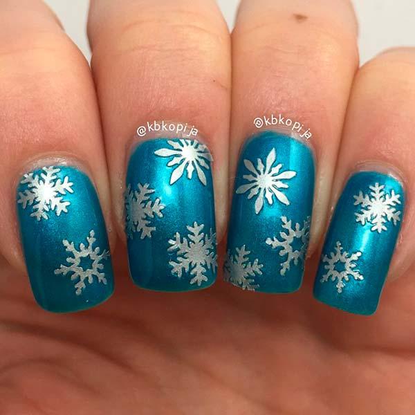 Winter Nail Art: 61 Latest Nail Art Design Ideas For Winter