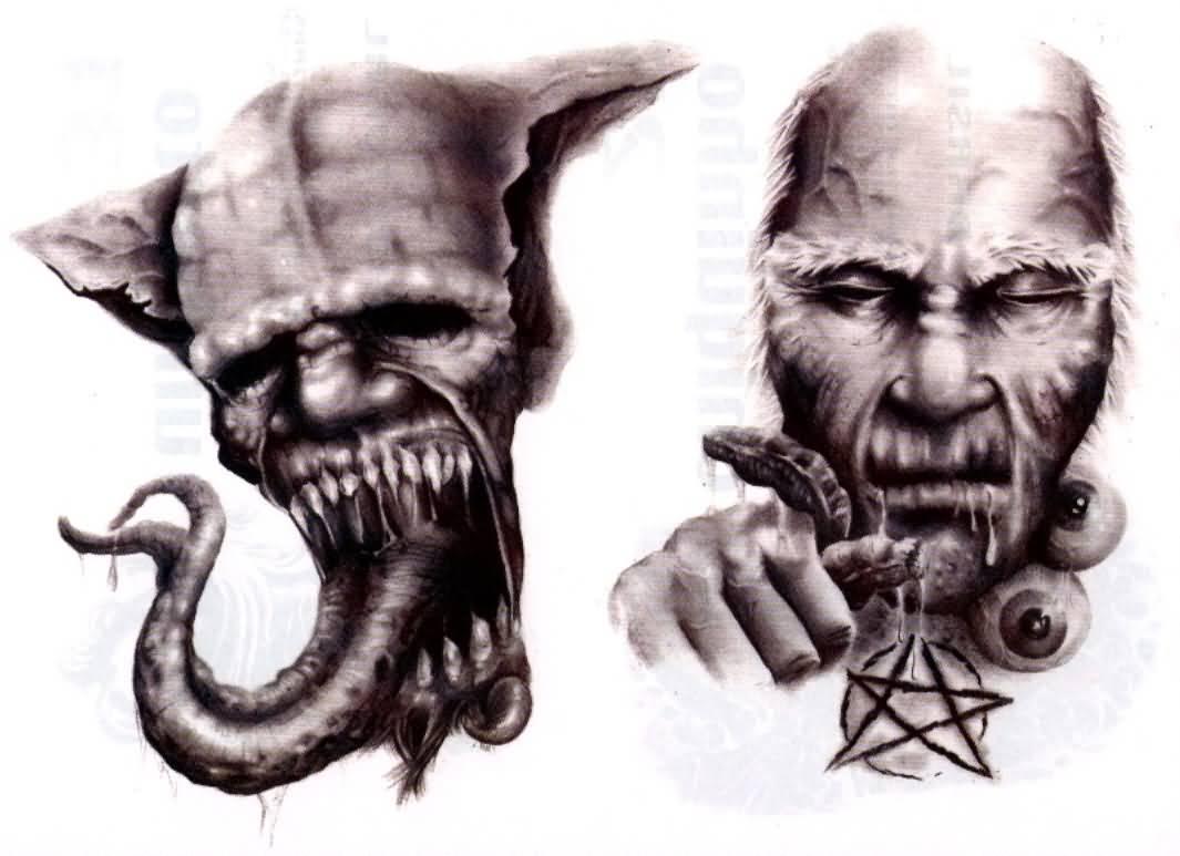 30+ Amazing Evil Tattoo Designs