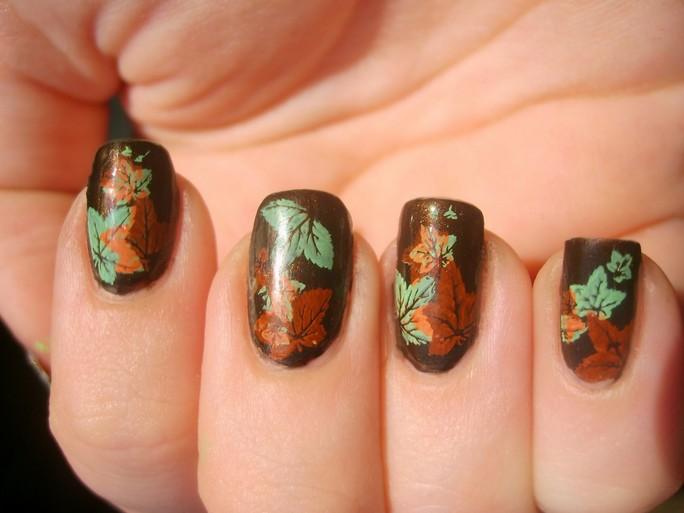 50 Most Beautiful Autumn Nail Art Designs