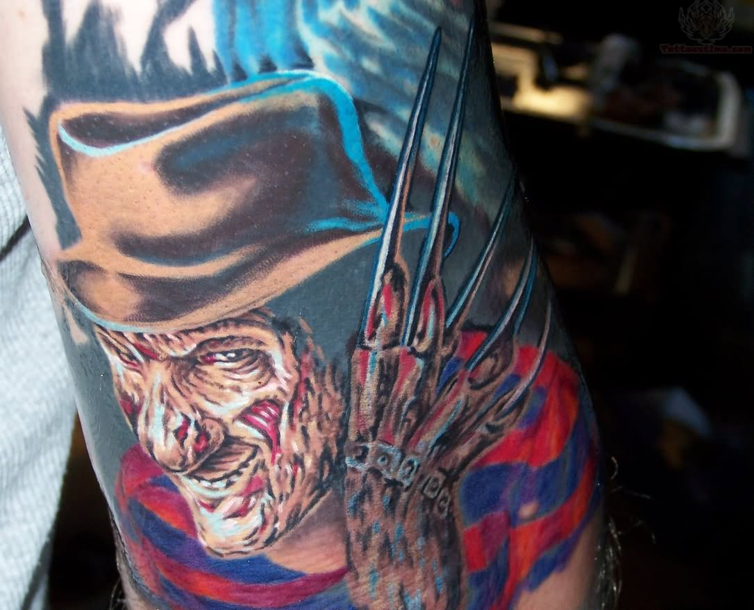 28 colorful freddy krueger tattoos
