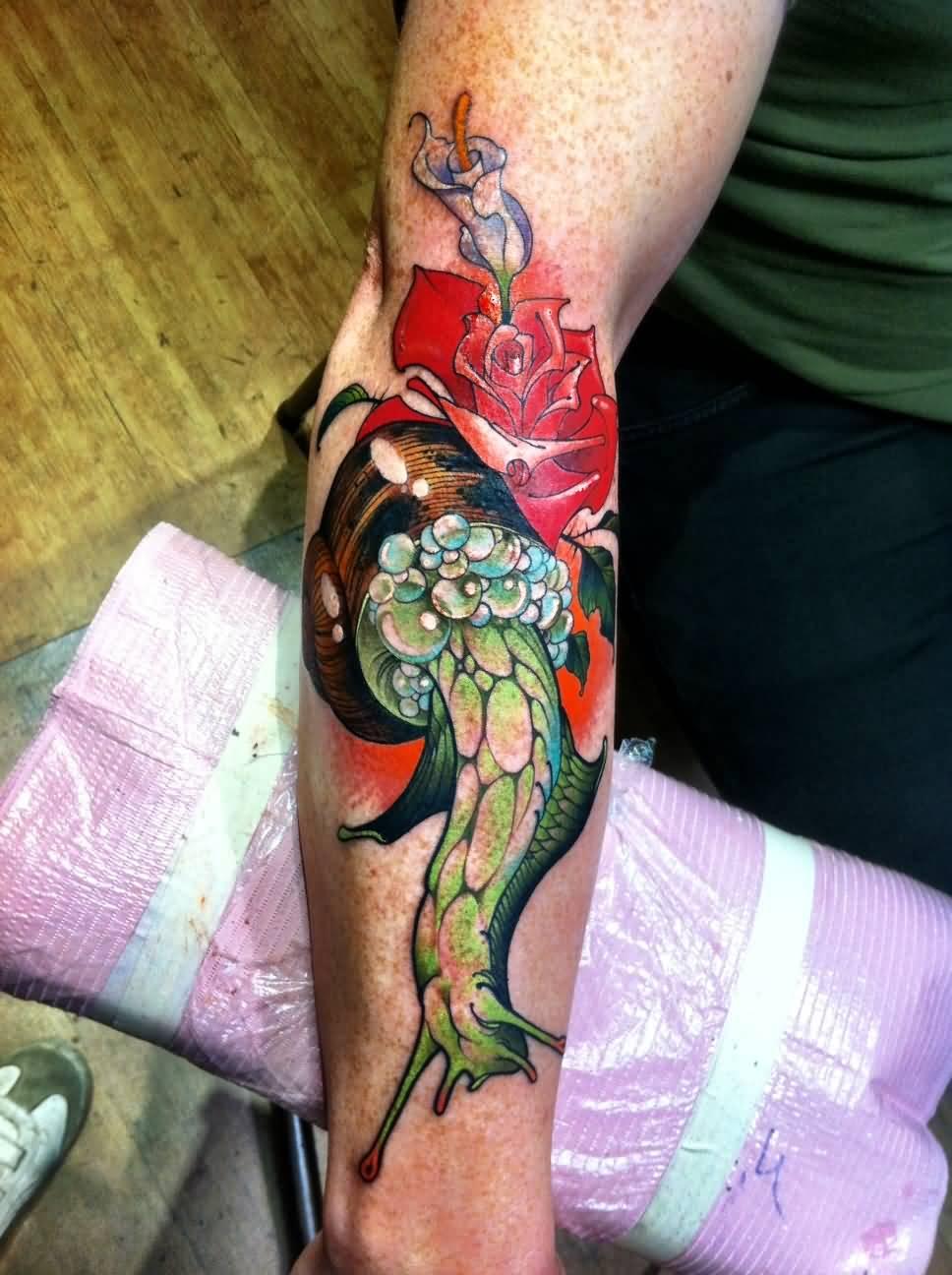 22 Snail Skull Tattoos