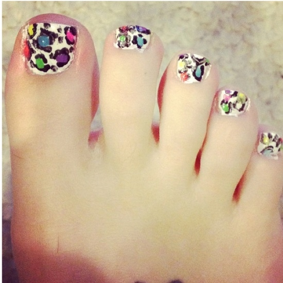 60 Most Beautiful Toe Nail Art Design Ideas