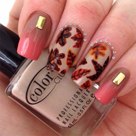 Cute Nail Designs For Autumn Papillon Day Spa