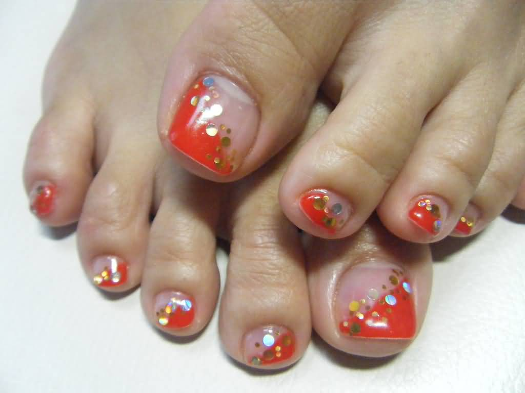 Toe Nail Designs Fall