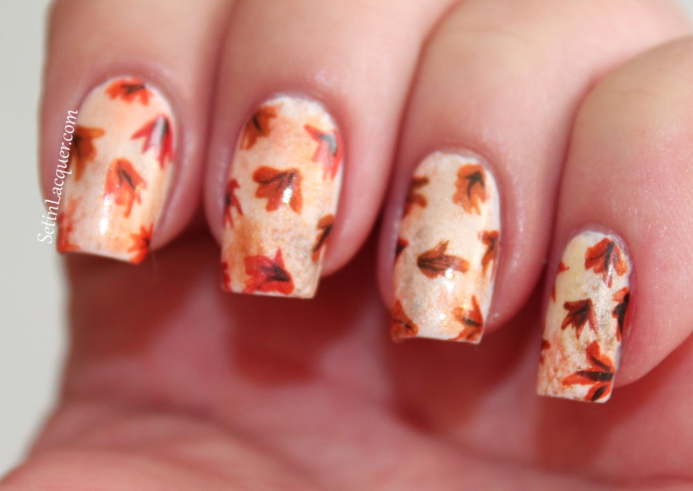 50+ Latest Autumn Fall Nail Art Design Ideas