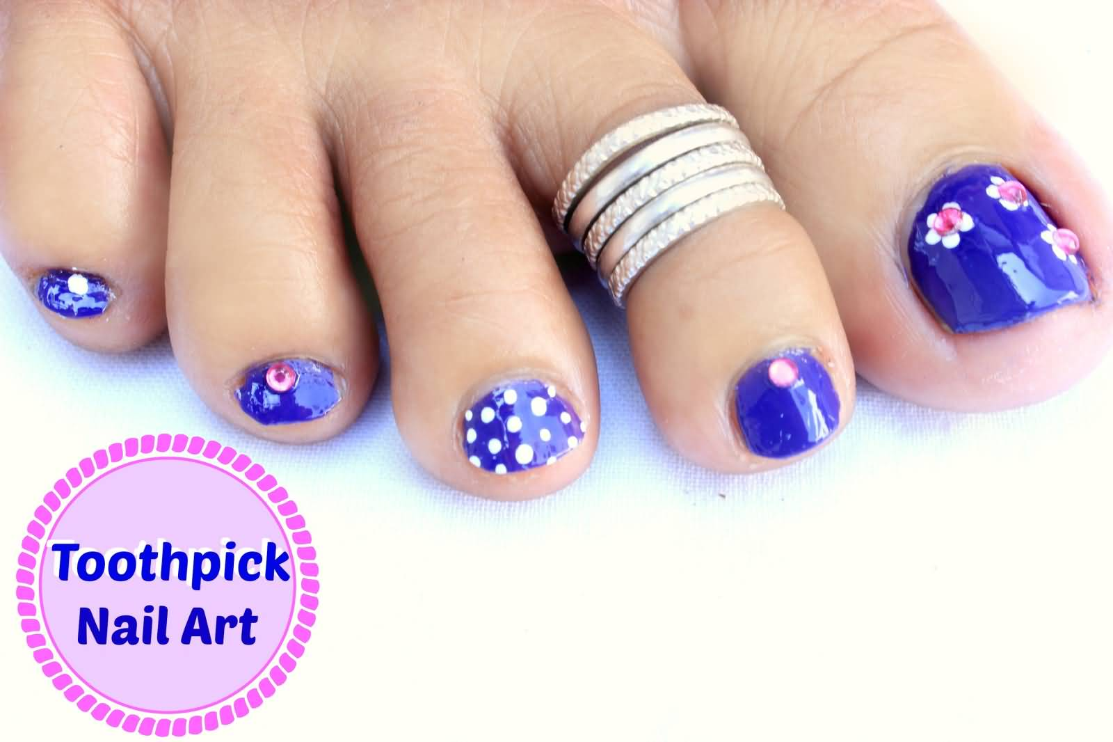 50+ Best Toe Nail Art Design Ideas For Girls