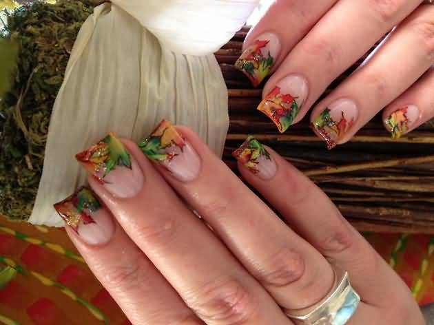 50 Best Nail Art Design Ideas For Autumn
