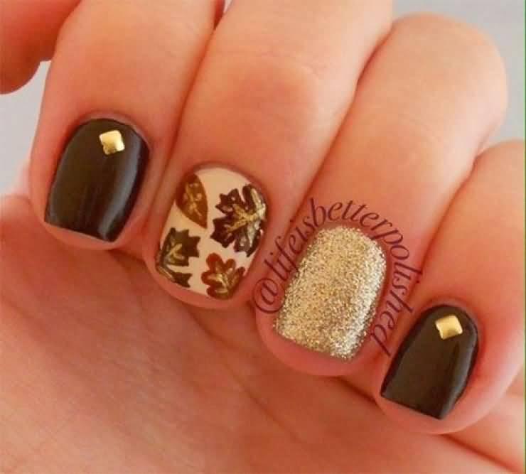 Gorgeous Autumn Inspired Nails: 50+ Most Beautiful Autumn Nail Art Designs