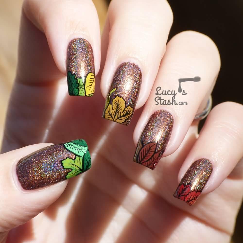 Fall Nail Art: 50+ Latest Autumn Fall Nail Art Design Ideas