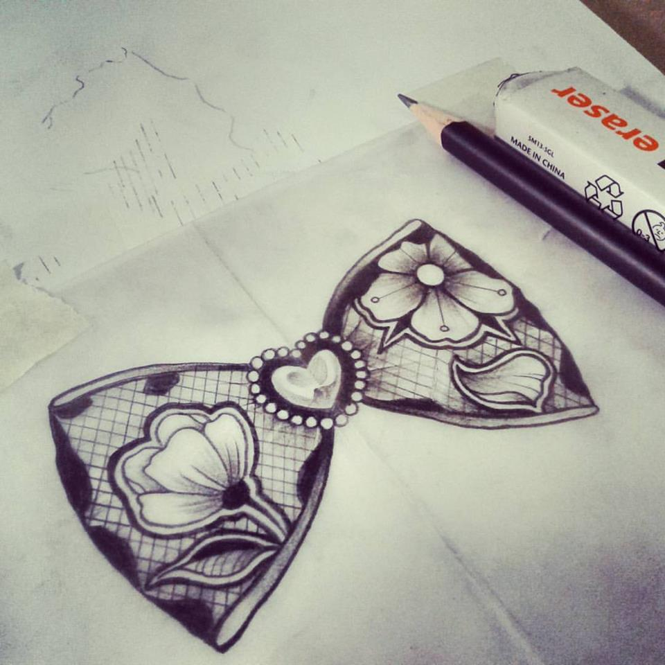 Bow Tattoo Designs - Tattoo Collections