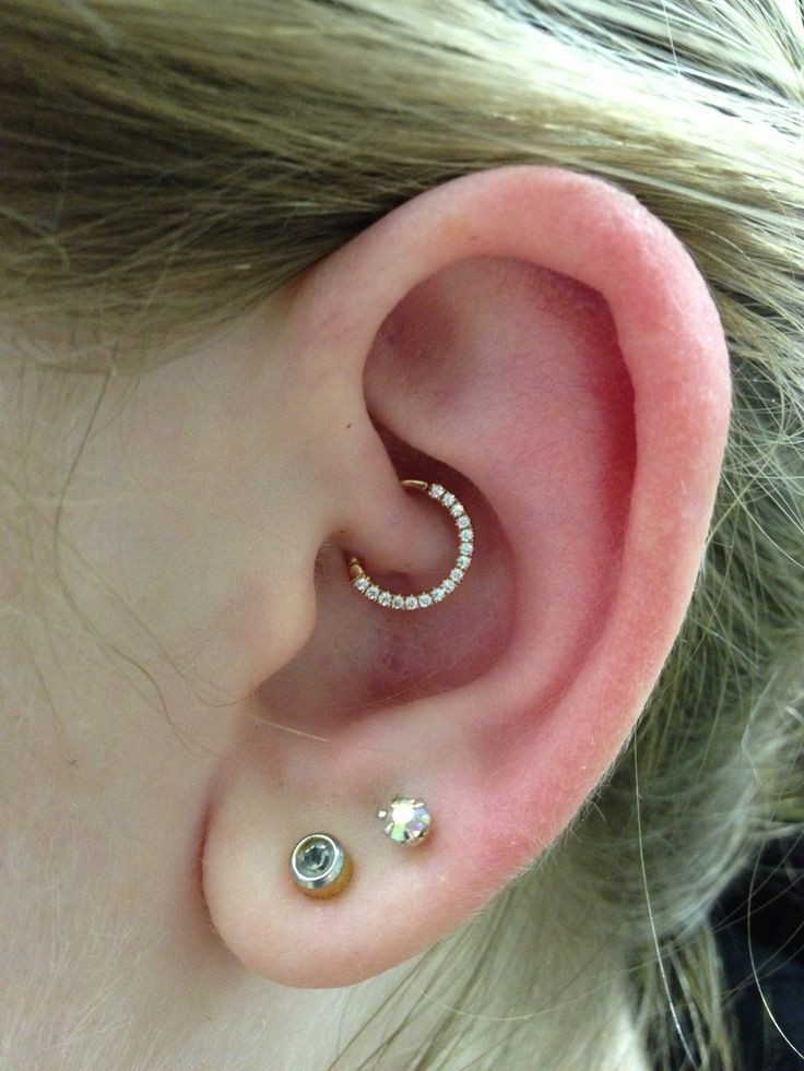 daith ear piercing jewelry 50 daith piercing pictures and ideas 6608