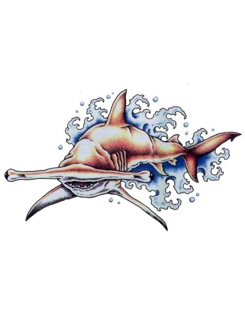 Hammerhead shark tattoo designs - photo#9