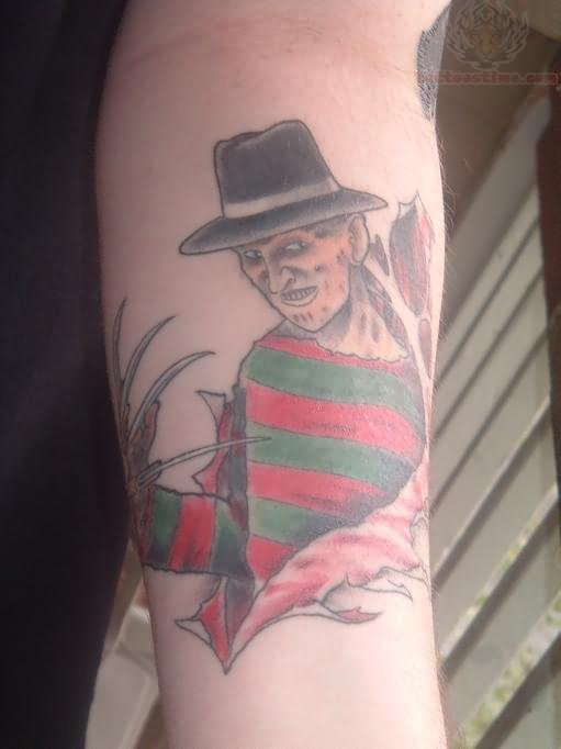 16 Traditional Freddy Krueger Tattoos