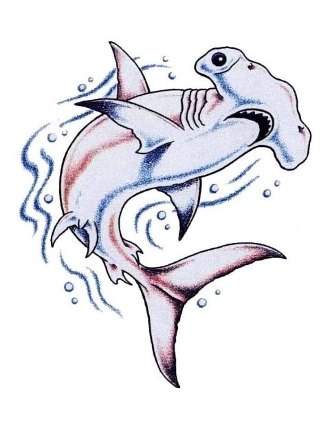 64f6340dac272 70 Hammerhead Shark Tattoo Designs For Men - Deep Sea Ink Ideas
