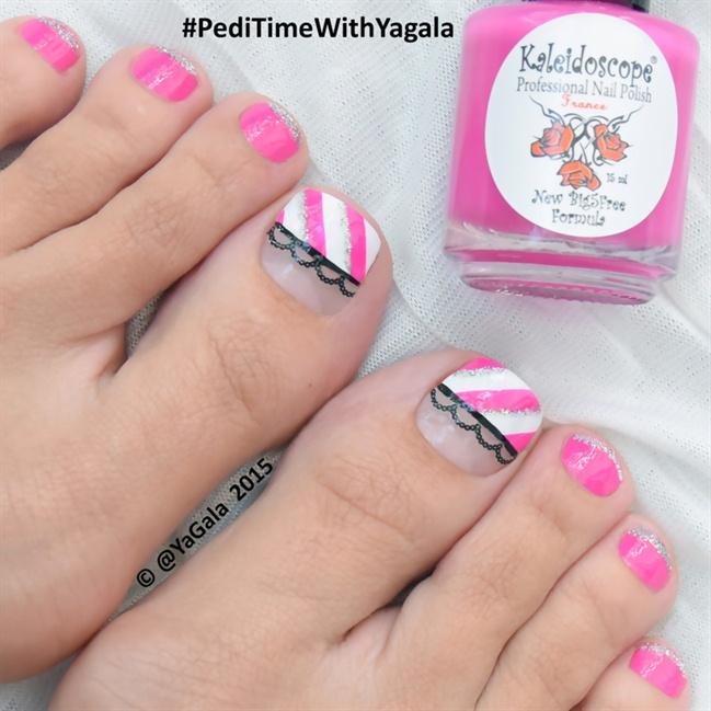 Toe nail art black and pink pink and white leopard toe nail art pink toe nail art design ideas prinsesfo Choice Image
