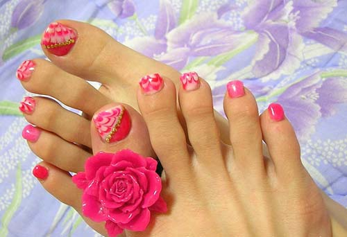 Nail Art Design For Legs Nailarts Ideas