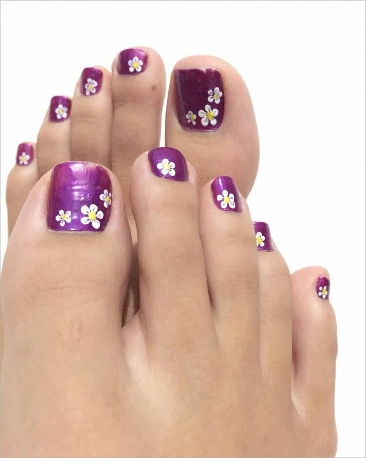 50 Best Toe Nail Art Design Ideas For Girls